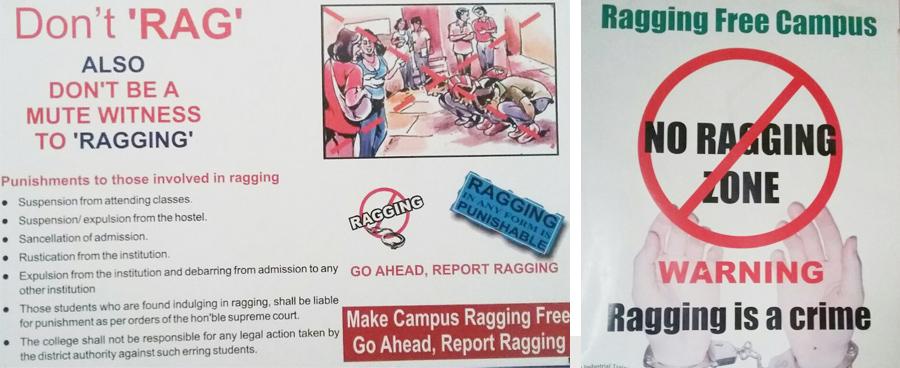 anti ragging drive