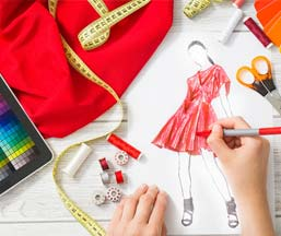 M.A. in Fashion Designing